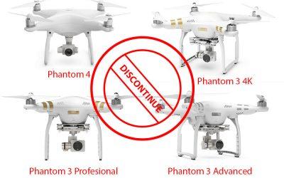 DJI Hentikan Produksi Phantom 3 dan Phantom 4