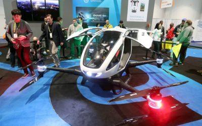 Taksi Drone Pertama di Dunia