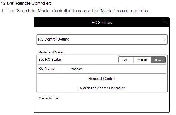 """Slave"" Remote Controller"