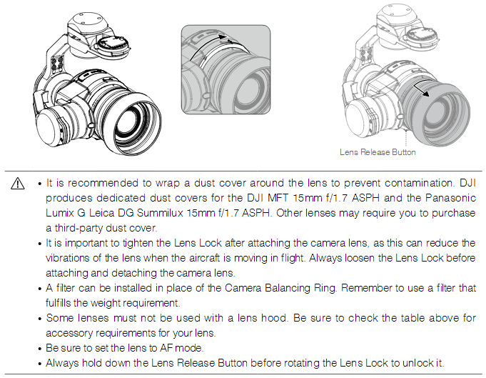 Installing Gimbal and Camera