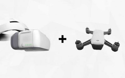 DJI Spark dan Virtual Reality