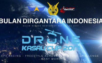 KASAU CUP 2017: Night Drone Racing Pertama di Indonesia