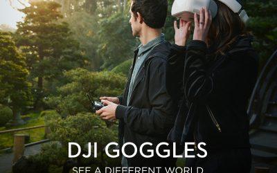 DJI Luncurkan FPV Googles