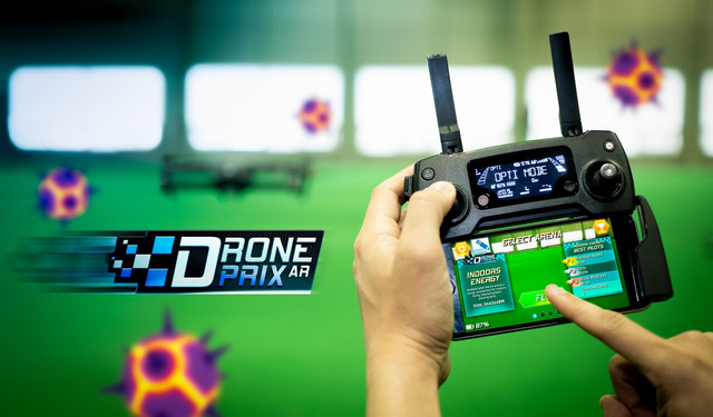 Game Augmented Reality Pertama DJI