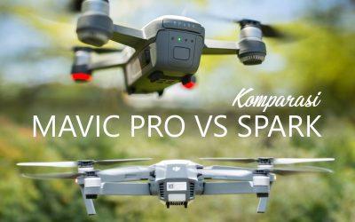 DJI Mavic VS DJI Spark: Drone Mana yang Paling Bagus Dibawa Travelling