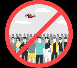 Jangan Terbang di Kerumunan