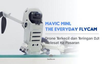 Drone Terkecil dan Teringan DJI Melesat Ke Pasaran: Mavic Mini, The Everyday FlyCam